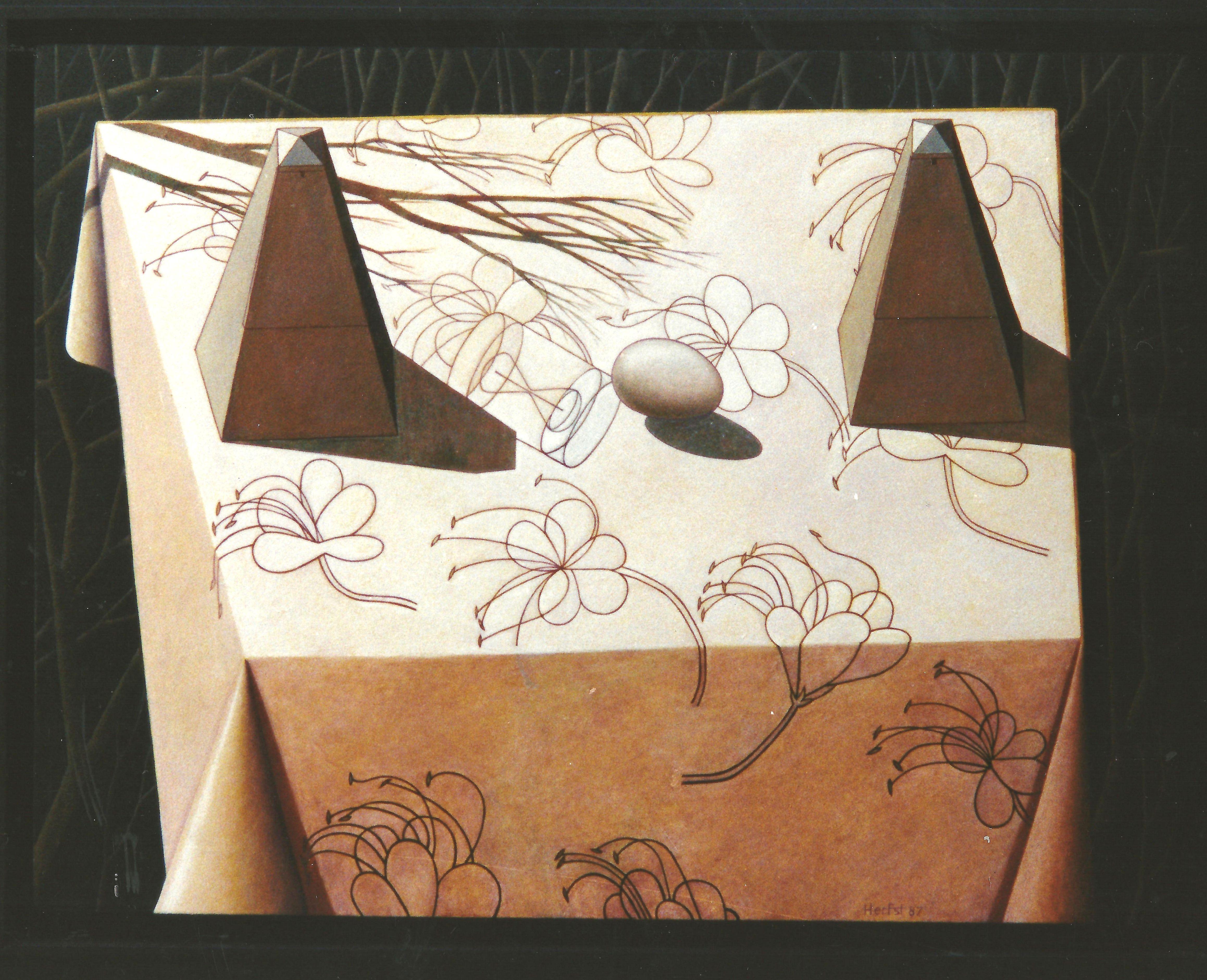 Tafel voor Vincent (uit collectie)